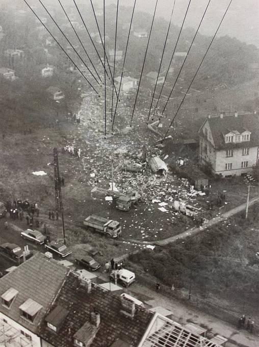 Snímek z tragické nehody před 40 lety