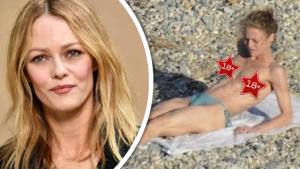 Bejvalka Johnnyho Deppa nahá: Vanessa Paradis a opalovačka bez plavek