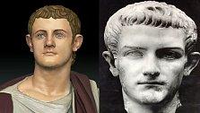Krutovládce starověkého Říma Caligula.