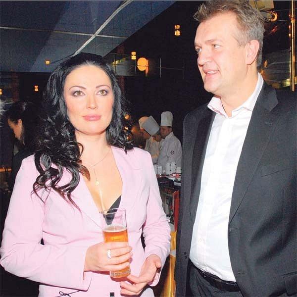 Šťastný pár Ivana Christová a Robo Beňo