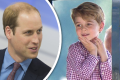 princ George a princ William
