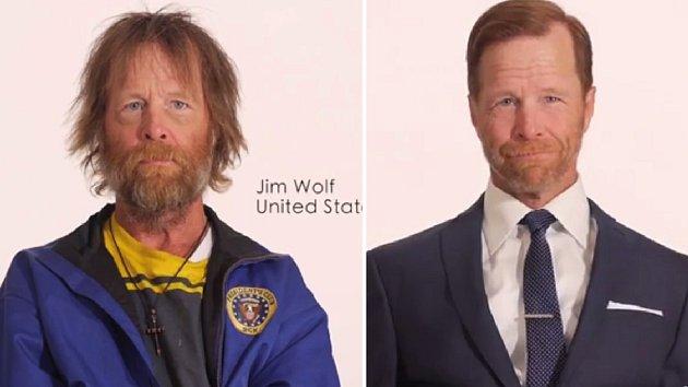 Jim asi ani nedoufal, že by se proměna mohla dopadnout tak dobře.