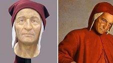 Slavný italský dramatik Dante Alighieri.