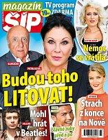 Titulní strana Magazínu Šíp 26.10.2016