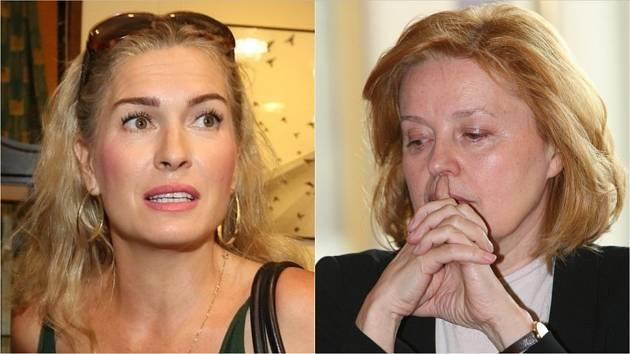 Olga Menzelová a Magda Vášáryová