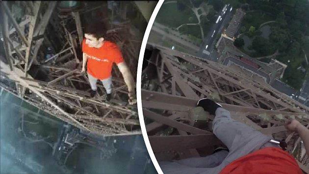 Mrazivé záběry by si neměli prohlížet lidé, co se bojí výšek.