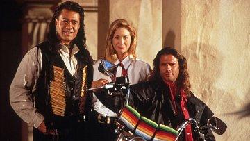 Hlavní trojice seriálu Odpadlík. Vzpomínáte?