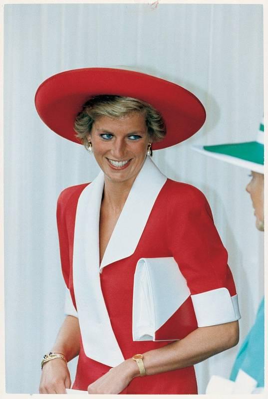 Diana byla po dlouhá léta považována za módní ikonu.