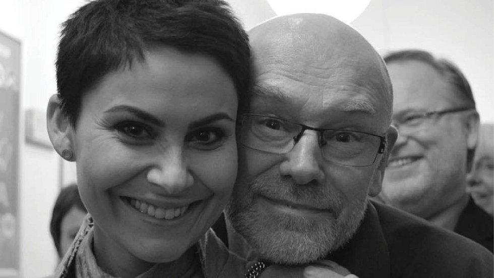 Vlaďka má s fotografem Petrem Berounským hodně blízký vztah.