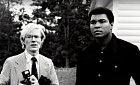 Andy Warhol a Muhamad Alí
