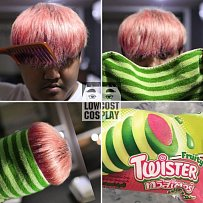 Zmrzlina Twister, koho by to napadlo?
