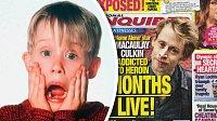 Macaulay Culkin překonal závislost na heroinu.