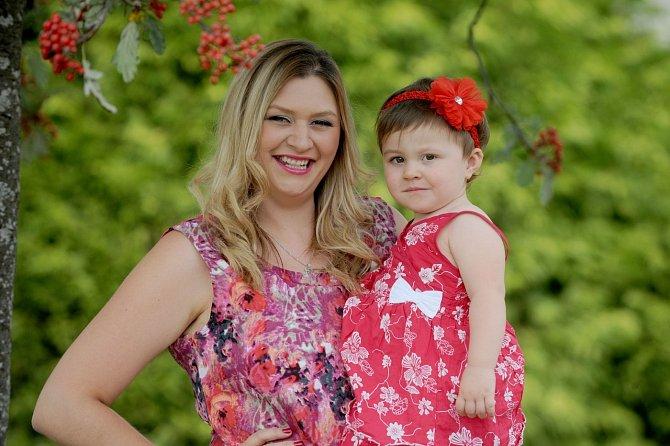 Lara s dcerou Savannah