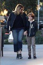 Julia Roberts se synem.