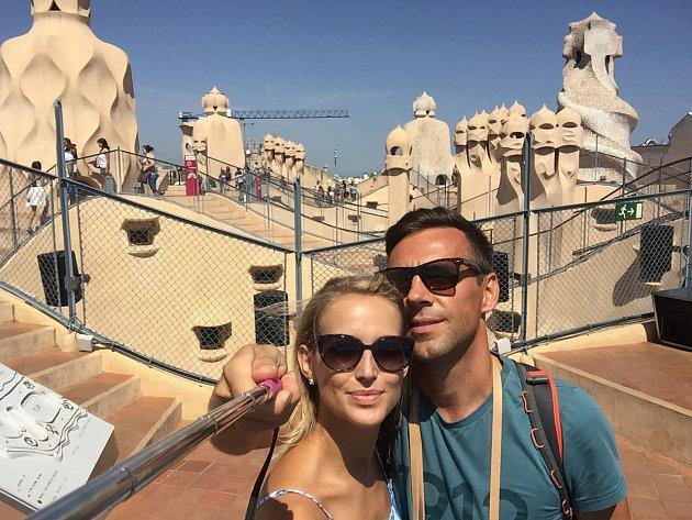Roman Vojtek a Petra Vraspírová si užili romantickou dovolenou vBarceloně.