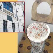 Unikátní toaleta, na niž si odskočili i Heydukovi hosté, Jirásek, Klostermann nebo Masaryk. Ve výřezu dům Adolfa Heyduka v písecké Tyršově ulici.