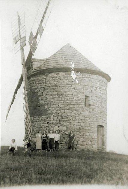 Takhle vypadal původní mlýn.
