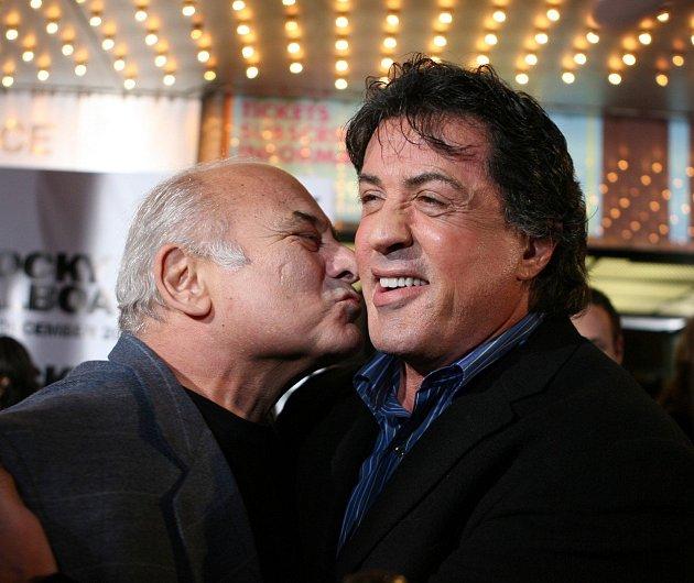 Se Sylvestrem Stallonem mají dodnes dobré vztahy.