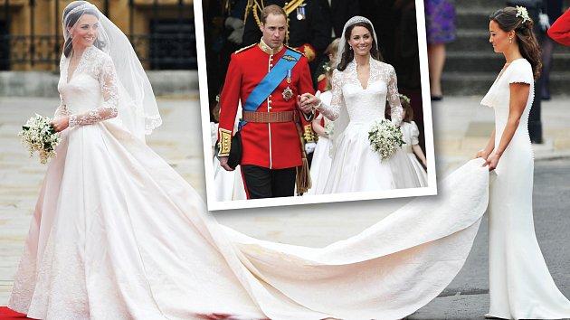 Svatba Kate Middletonové a prince Williama