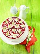 Ovocný malovaný dort