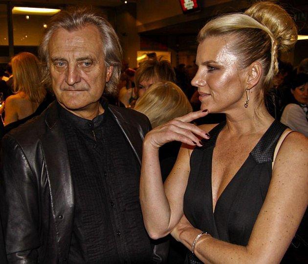 Leona Machálková a Bořek Šípek