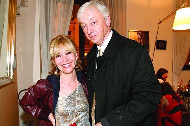 Michaela Dolinová a Jan Sváček