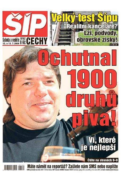Titulka 12. 7. 2008