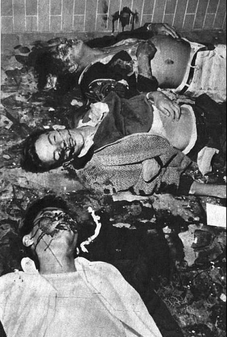 Masakr, na němž se prý podílela CIA