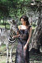 Modelka Kateřina Votavová se fotila na exotickém Mauriciu.