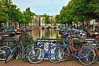 Nejčastějším dopravním prostředkem místních je kolo.