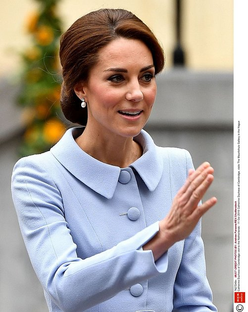 Pohublá Kate Middleton