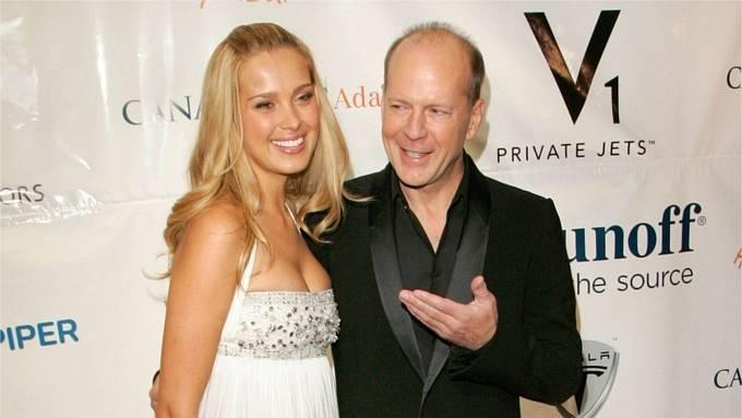 Bruce Willis, Petra Němcová