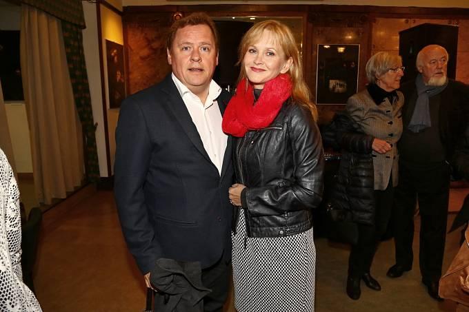 Václav Kopta a manželka Simona Vrbická