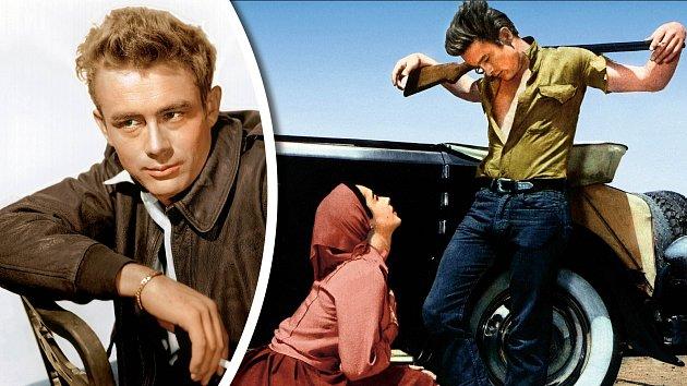 Vewesternu Gigant  (1956) si zahrál sElizabeth Taylorovou. Film šel dokin až poJamesově smrti.