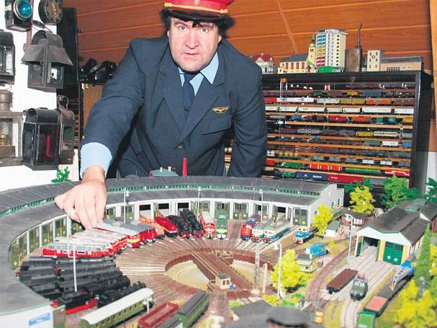 Největší model železniční točny je opravdu impozantní.