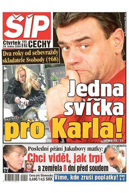 Titulka 29. 1. 2009