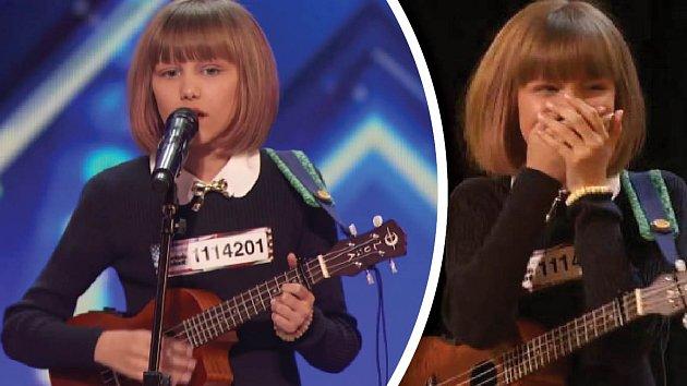Grace má hlas, který jí může závidět většina profesionálních zpěváků.