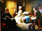 Krásná dívka odsouzená nasmrt patřila mezi oblíbené náměty řady malířů.