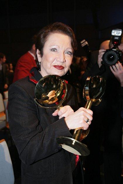 Hana Maciuchová získala množství ocenění.