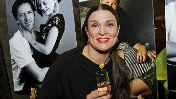 Herečka Mahulena Bočanová.