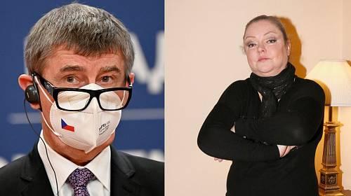 Dominika Gottová, Andrej Babiš