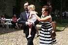 Marta Jandová s rodinou