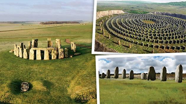 Stonehenge zná snad každý, ale málokdo ví, že byl součástí mnohem většího komplexu.