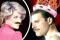 Princezna Diana a Freddie Mercury