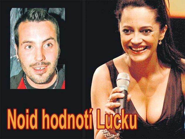 Lucie Bílá a manžel Noid