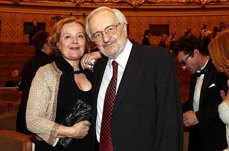 Milan Lasica a Magda Vášáryová