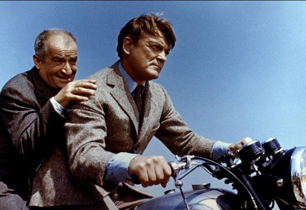 SLouisem de Funèsem se při natáčení Fantomase (1964) nesnášeli.