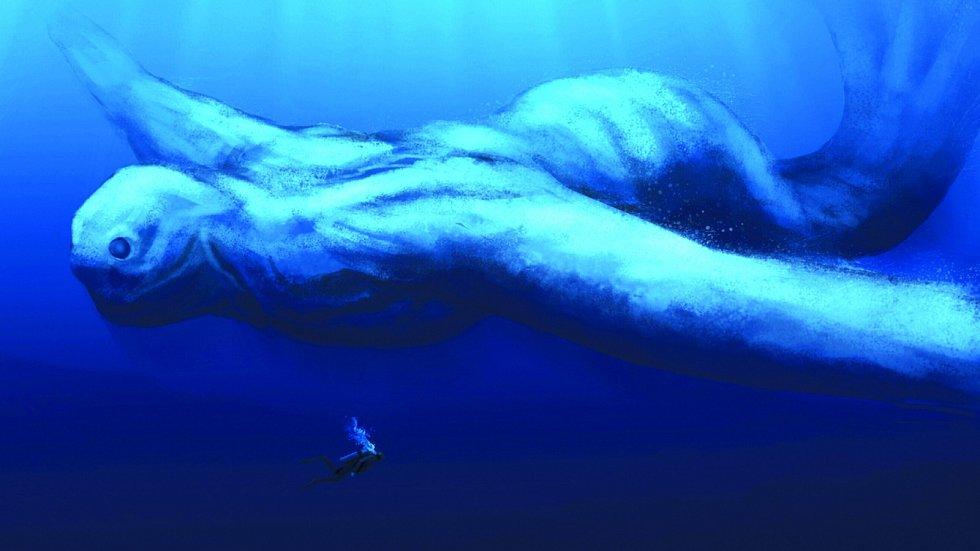 Oceány jsou zatím velmi málo probádané. Snadno by se tam mohl skrývat i tvor o rozměrech Ningena.