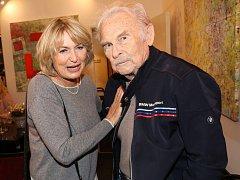Luděk Munzar s Eliškou Balzerovou