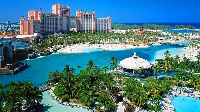 Atlantis Royal Towers je zřejmě nejluxusnějším hotelem na Bahamách.